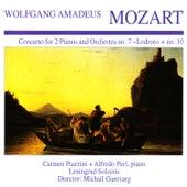 Mozart: Piano Concerto Nos. 7 & 10 by Carmen Piazzini