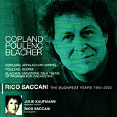 Copland: Appalachian Spring - Poulenc: Gloria - Blacher: Variations on a Theme of Paganini for Orchestra von Budapest Philharmonic Orchestra