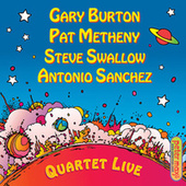 Quartet Live! by Pat Metheny