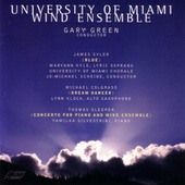 Sleeper, Colgrass, Syler by University of Miami Wind Ensemble