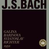 Bach: Sonata No. 2 in A Major, Sonata in G Major by Sviatoslav Richter