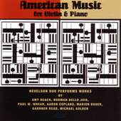 American Music for Violin & Piano von Elizabeth Smith