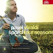 Vivaldi: Four Seasons, Bach: Concerto for Two Violins and Strings / Šporcl, Prague Philharmonia von Pavel Šporcl
