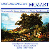 Mozart: Divertimento in B-Flat Major, Violin Concerto No. 3 & Symphony No. 29 by Various Artists