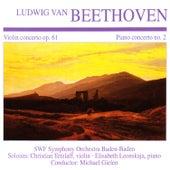Beethoven: Violin Concerto in D Major & Piano Concerto No. 2 by Various Artists