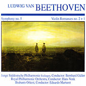 Beethoven: Symphony No. 5 & Violin Romances by Various Artists