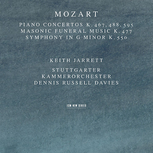 Mozart: Piano Concertos K. 467, 488, 595; Masonic Funeral Music, K. 477; Symphony In G Minor, K. 550 by Dennis Russell Davies