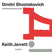 Dmitri Shostakovich: 24 Preludes And Fugues, Op. 87 by Keith Jarrett