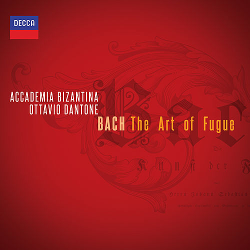 Bach: The Art of Fugue von Ottavio Dantone