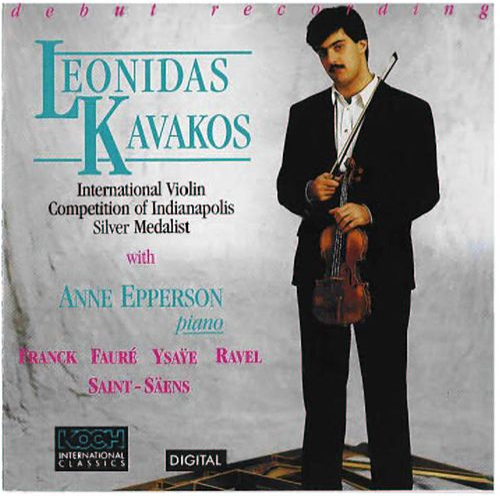 Franck-sonata,faure-berceuse by Leonidas Kavakos