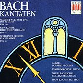 Johann Sebastian Bach: Kantaten/Cantatas BWV 140/61/36 von Arleen Augér