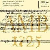 Bach: Klavierbüchlein für Anna Magdalena Bach 1725 von Various Artists