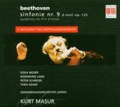 Ludwig Van Beethoven: Sinfonie Nr. 9 d-moll op. 125/Symphony no: 9 in d minor/Mitschnitt des Eröffnungskonzertes von Edda Moser