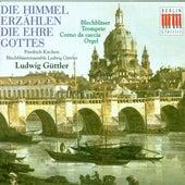 Scheid/J. S. Bach/Reger/Telemann: Die Himmel erzählen die Ehre Gottes - Musik für Blechbläser, Trompete, Corno da caccia und Orgel by Various Artists