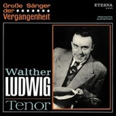 Große Sänger der Vergangenheit: Walther Ludwig - Tenor by Walther Ludwig