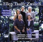 Zwilich: Double Concerto; Triple Concerto; Piano Concerto by The Kalichstein-Laredo-Robinson Trio