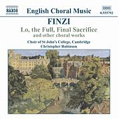 Lo, The Full, Final Sacrifice by Gerald Finzi