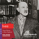 Ives: Three Places in New England von New York Philharmonic