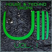 House & Techno Drops, Vol. 1 - EP by Various Artists