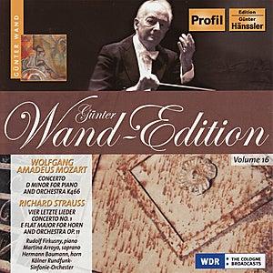 Günter Wand Edition, Vol. 16 by Kölner Rundfunk Sinfonie Orchester
