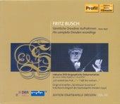 Die erste Aufnahmestaffel 1923 / Die zweite Aufnahmestaffel 1926 / Brahms: Sinfonie No. 2 by Staatskapelle Dresden