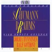 Schumann: Dichterliebe / Brahms: Vier ernste Gesänge by Jorma Hynninen
