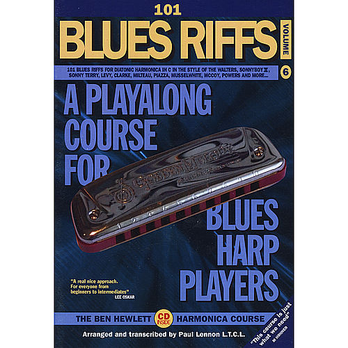 101 Blues Riffs by Ben Hewlett