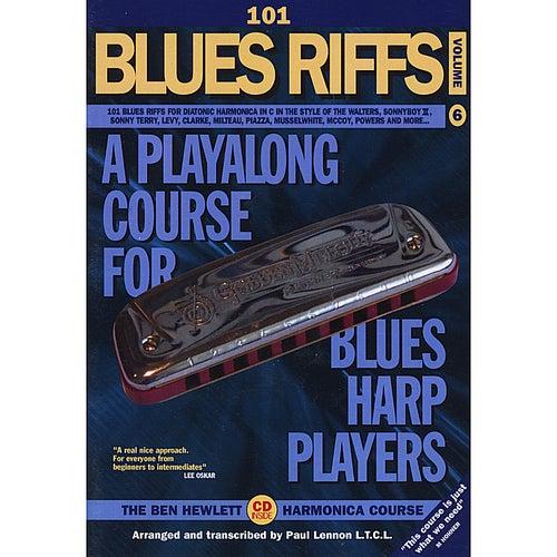101 Blues Riffs by Ben Hewlett