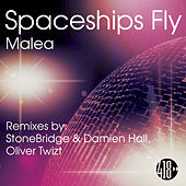 Spaceships Fly by Malea