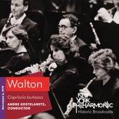 Walton: Capriccio burlesco by New York Philharmonic