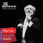 Henze: Symphony No. 9 by New York Philharmonic