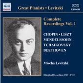 Complete Recordings Vol. 1 by Mischa Levitzki