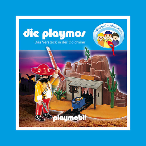 Die Playmos - Das Versteck in der Goldmine von Die Playmos