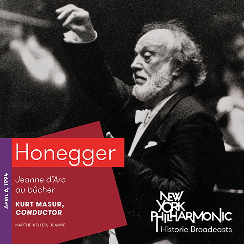 Honegger: Jeanne d'Arc au bûcher by Various Artists