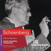 Schoenberg: Ode to Napoleon by Edward Steuermann