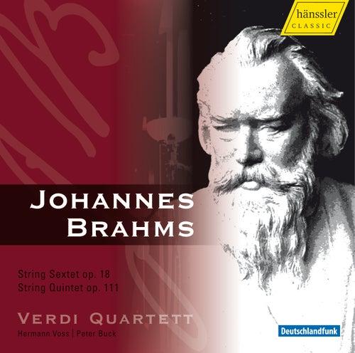The Verdi Quartett Performs Brahms: String Sextet, Op. 18 & String Quintet, Op. 111 by Verdi Quartett