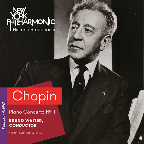 Chopin: Piano Concerto No. 1 by Artur Rubinstein