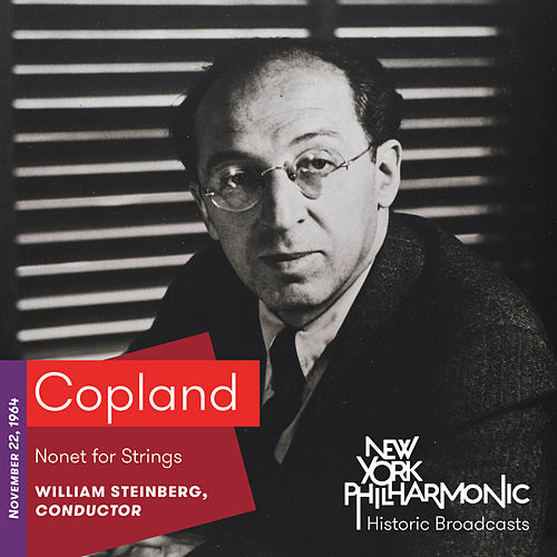 Copland: Nonet for Strings by New York Philharmonic