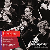 Carter: Concerto for Orchestra de New York Philharmonic