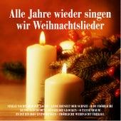 Alle Jahre wieder singen wir Weihnachtslieder: Stille Nacht, heilige Nacht, Leise rieselt der Schnee, O du Fröhliche, Kling Glöckchen, Süßer die Glocken, O Tannenbaum, Es ist ein Ros' entsprungen, Fröhliche Weihnacht überall de Various Artists