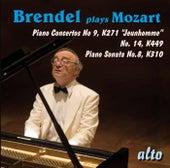 Mozart:  Brendel Plays Mozart - Piano Concertos Nos. 9 & 14; Piano Sonata No. 8 by Alfred Brendel