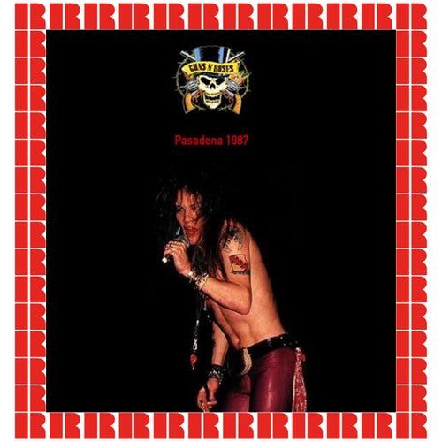 Pasadena 1987 de Guns N' Roses