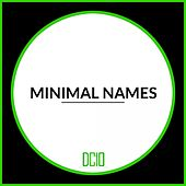 Minimal Names - EP by Various Artists