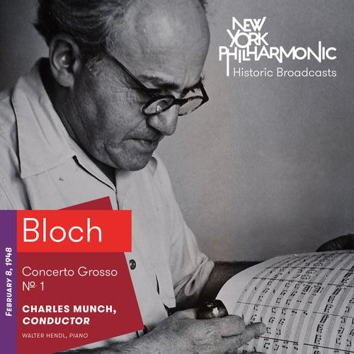 Bloch: Concerto Grosso No. 1 by Walter Hendl