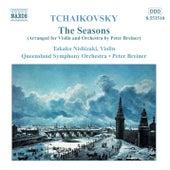 TCHAIKOVSKY: Seasons (The) (arr. for violin and orchestra) di Pyotr Ilyich Tchaikovsky