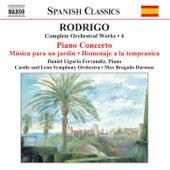 Complete Orchestral Works 4 by Joaquin Rodrigo