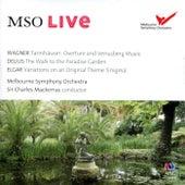 MSO Live - Wagner, Delius & Elgar (Live) van Sir Charles Mackerras