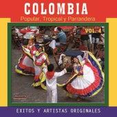 Colombia Popular Tropical y Parrandera, Vol. 4 by Various Artists