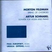 Feldman/Schnabel by Ursula Oppens