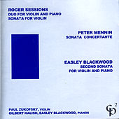 Roger Sessions/Peter Mennin/Easley Blackwood by Various Artists